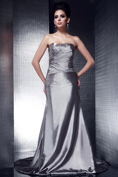 Ericdress Elegant Trumpet/Mermaid Strapless Evening Dress