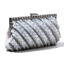 Delicate Rhinestones Handbag for Evening/Wedding(3colors)