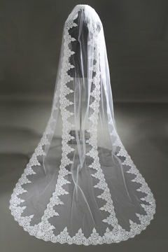 Ericdress Amazing Appliques Wedding Veil