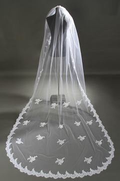 Ericdress Beautiful Long Bridal Veil