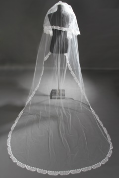 Ericdress Amazing Lace Edge Long Bridal Veil