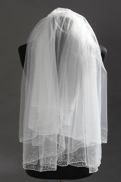 Ericdress Beautiful Beading Bridal Veil