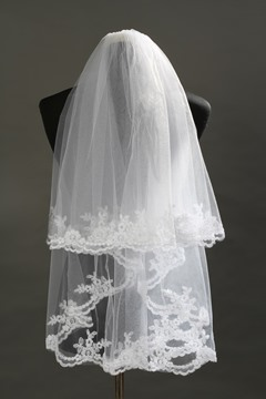 Ericdress Hot Sale Appliques Short Wedding Veil