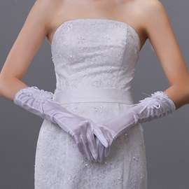 Flowers Fingers Wedding Glove