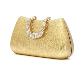 Lustrous PU Evening Party Handbag(4colors)