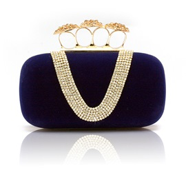 Luxurious Satin Evening Party Handbag