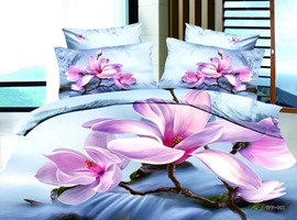 Brilliant 4 Piece Cotton Bedding Sets