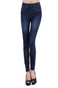 Ericdress Imitation Jean Leggings Pants
