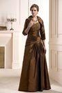 Lace Beaded/Sequins A-Line Sweetheart Neckline Floor-Length Mother of the Bride Dress