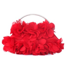 Cute Chiffon Flowers Evening/Wedding Handbag