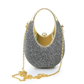 Attractive Colorful Yarn Butyl Evening/Wedding Handbag