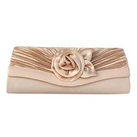Smart Reched Rose Evening/Wedding Handbag