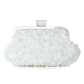 Handmade Lace Beads Evening/Wedding Handbag