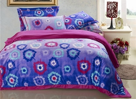 Ericdress Rendering Irregular Flower 4-Piece Bedding Sets