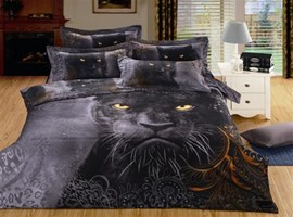 Ericdress Forest King Lion Print Bedding Sets