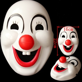 Funny Smiling Face Hallowmas Mask