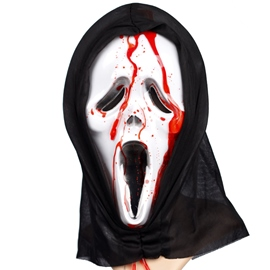 Bleeding Skull Halloween Mask