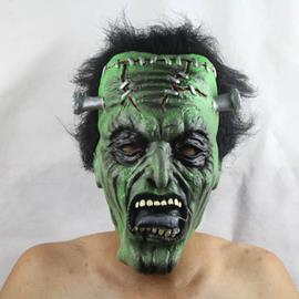 Green-face Monster Halloween Mask