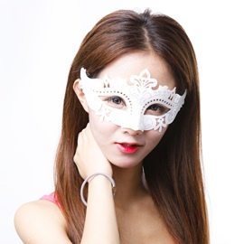 Halloween Dancing Party Chic Delicate Princess Half Face Mask