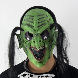 Horrible Long Hair Ghost Hallowmas Mask