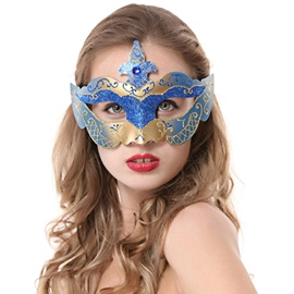 Attractive Mystery Half-face Hallowmas Party Princess Mask
