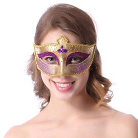 Mystery Attractive Half-face Hallowmas Party Princess Mask