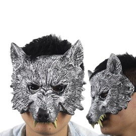 Unique Gray Wolf Halloween Mask