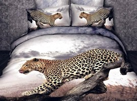 Panthera Pardus 100% Cotton Animal Print Bedding Sets