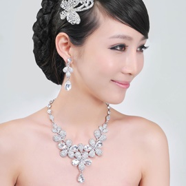 Hot Selling Alloy with Rhinestone Including Headwear