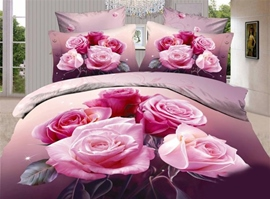 Balmy Spring 100% Cotton 3D Bedding Sets