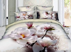 When Spring Comes 100% Cotton 3D Bedding Sets