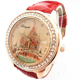 Romantic Vintage Castle Watches for Women