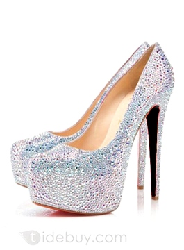 Cute Euramerican Rhinestone Shoes