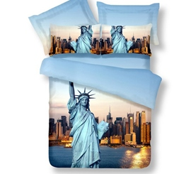 Statue Of Liberty Special 3D Bedding Sets
