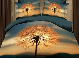Twilight Dandelion Fashion 3D Bedding Sets