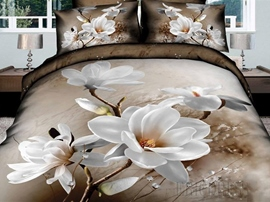 The Beauty Of Pure Vogue 3D Bedding Sets
