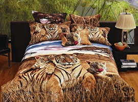 Tender Feelings 100% Cotton Animal Print Bedding Sets