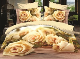 Years Shizuyoshi Romantic Roses 3D Bedding Sets