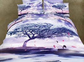 Artistic Conception Vogue Animal Print Bedding Sets