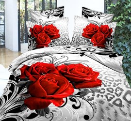Splendid Lovely Comfy Cotton 4PC Bedding Sets