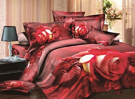Lover's Romance 100% Cotton 3D Bedding Sets