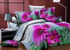 Aromatic Little Flowers Queen/King Size Bedding Sets