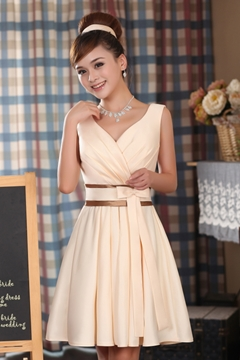 Ericdress Sweet V Neck Short Bridesmaid Dress