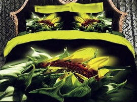 The King Of The Flower 3D Bedding Sets