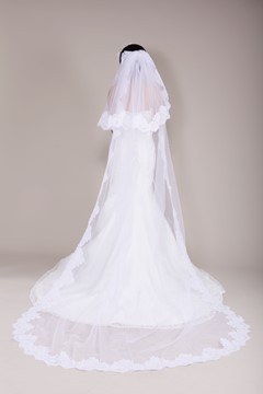 Lace Chapel Wedding Veil