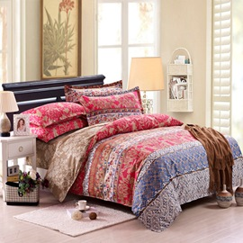 Ericdress Simple Elegant Jacquard 4-Piece Bedding Sets