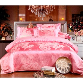 Fantastic Pink Flowers Blossom 4 Piece Bedding Sets