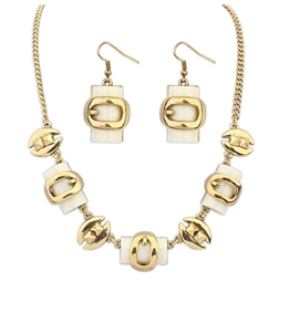 Ericdress Square Gemstone Jewelry Set