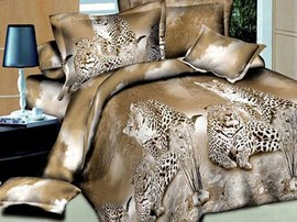 Special Leopard Animal Print Bedding Sets