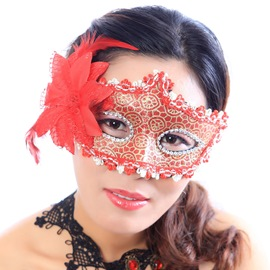 Halloween Party Princess Half Face Mask